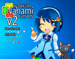 Nanami Cursors v2 by dark13th