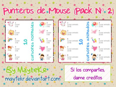 Punteros de mouse Seleccion normal Pack 2 by MayteKr