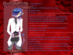 Raymon Blossoming blood Application by Misaki-onee-san