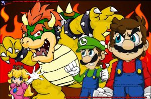 Epic Mario Bros by inacmaster
