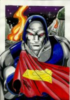 Darkseid color by papinucho