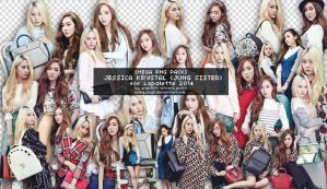 [PNG PACK] SNSD Jessica - F(x) Krystal _ Lapalette by babyjung2
