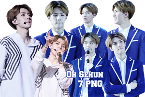 EXO Sehun PNG Pack {The Lost Planet in Beijing} by kamjong-kai
