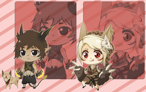 Chibi Demons [CLOSED] by LanaluAdopts