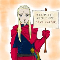 Save Haldir by AmandaRachels