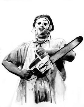 Leatherface by kreepykustomz