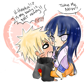 Naruhina- Take me now! by MamoRandom