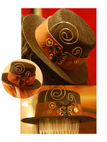 Mini Steampunk Top Hat by OcularFracture