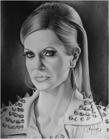 Kristin Bauer van Straten [ Pam from True Blood ] by Skaughtt