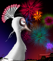 The Year of the Peacock begins now! by cesaralexis