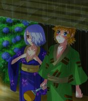Venfuu Day:Raindrops by Kiome-Yasha