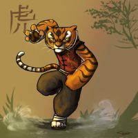 Master Tigress by Ticcy