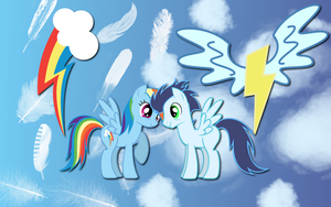 Soarin Dash wallpaper by AliceHumanSacrifice0