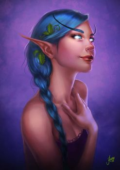 Tyrande by JuneJenssen