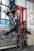 girls with guns by MissSouris