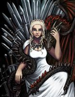 Daenerys Targaryen by TheLivingShadow