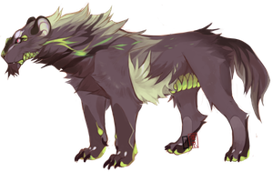 Beast design Auction (CLOSED) by Tokyozilla