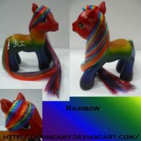 Kanji Pony Rainbow by AnimeAmy