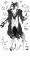 New werewolf costume concept by aichan25