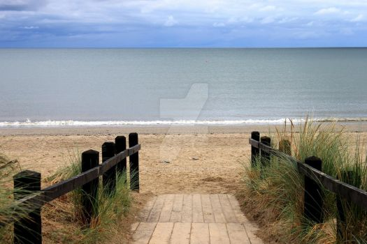 Beach Pathway by Emz-Photography