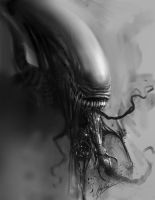 Alien: Malfunction by AlexRuizArt