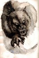 ink werewolf by Yamidragon
