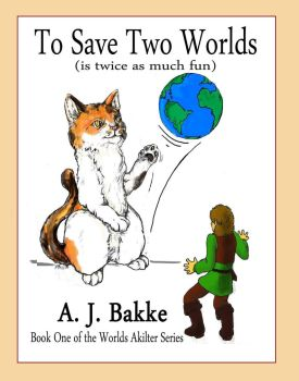 Updated cover for To Save Two Worlds by Sparrowchild