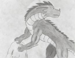 Wingless Dragon Concept by Assassin659
