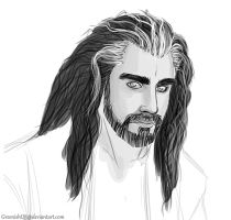Thorin Oakenshield by GreenishQ8