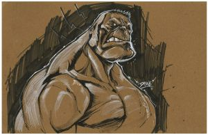 Hulkness by romidion