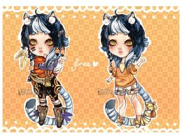 +FREE+ blue tiger boy by mostlyniceAdopts
