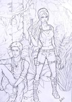 Tomb Raider and Uncharted by Kitehh