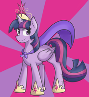 Super Twilight Sparkle! by BlacksWhites