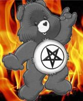 Care Bear - Metal Bear by S-I-L-V-E-R-W-I-N-G