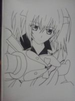 Vampire Knight - Rima (Outlines) by tamacchi