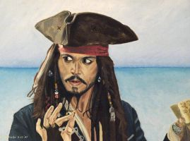 Johnny Depp - Egregious by shaman-art