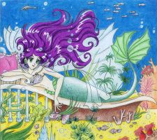 Mermaid by nephrite-butterfly