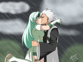::COMMISH33:: Kiss In The Rain by JTDP-Archives