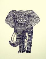 Elephant by silent741