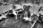 HDR Winter Mini Falls by Nebey