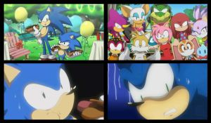 Sonic Generations cutscene by LadyGT