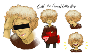 ASK Cal The Funnel Cake Boy by SlimyScaledSpider