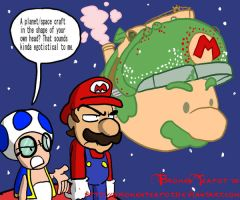Starship Mario by BrokenTeapot