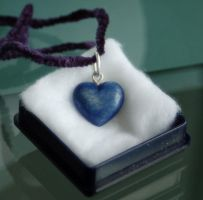 Blue Bone Heart by Myrmirada