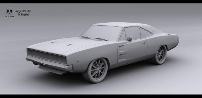 Charger 68 Clay - 1 by Siegfried-Ukr
