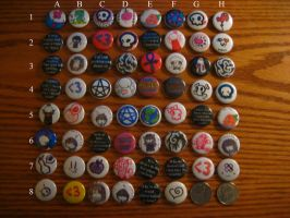 Buttons by EnjoyMyHate