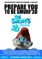 The Smurfs Movie Poster by Alecx8