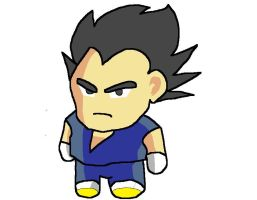 My chibi Vegeta by ZRandomAnimations