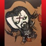 Kitty Rob Zombie by Tom Kelly by TomKellyART