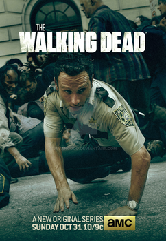 The Walking Dead - Season 1 Poster by jevangood
